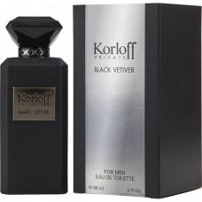 Black Vetiver Korloff Paris 88ml EDP for women and men