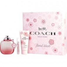 Coach Floral Blush 3-Piece 90ml EDP Gift Set For Women
