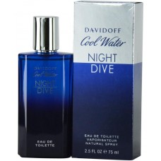 Davidoff Cool Water Night Dive 125ml EDT Perfume For Men