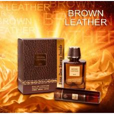 Brown Leather Fragrance World perfume 100ml EDP for men