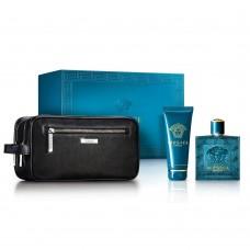 Versace Eros Perfume Gift Set For Men